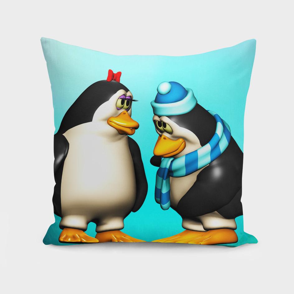 Shy Penguin