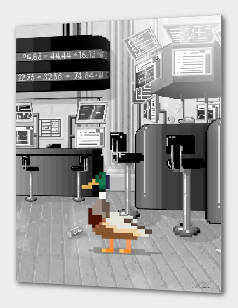 Duck of Wall Street