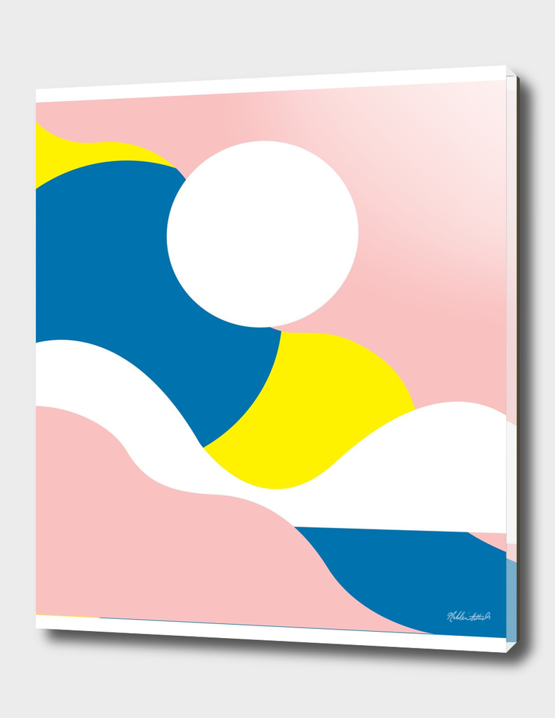 Graphic Sunset Poster 9
