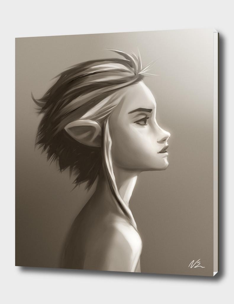 Dreamy Profile-Elf