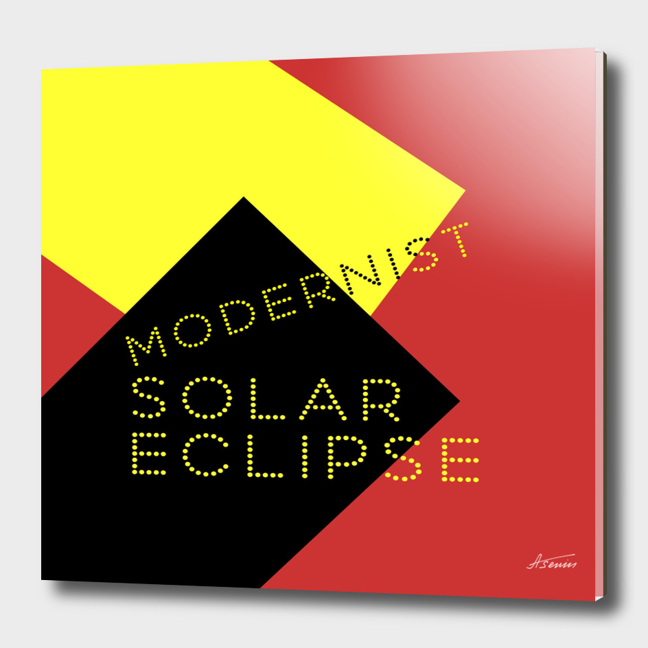Modernist Solar Eclipse