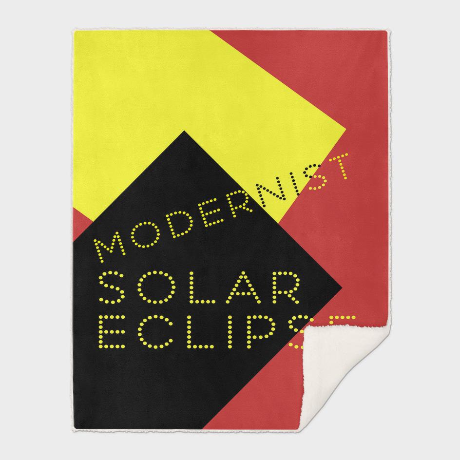Modernist Solar Eclipse