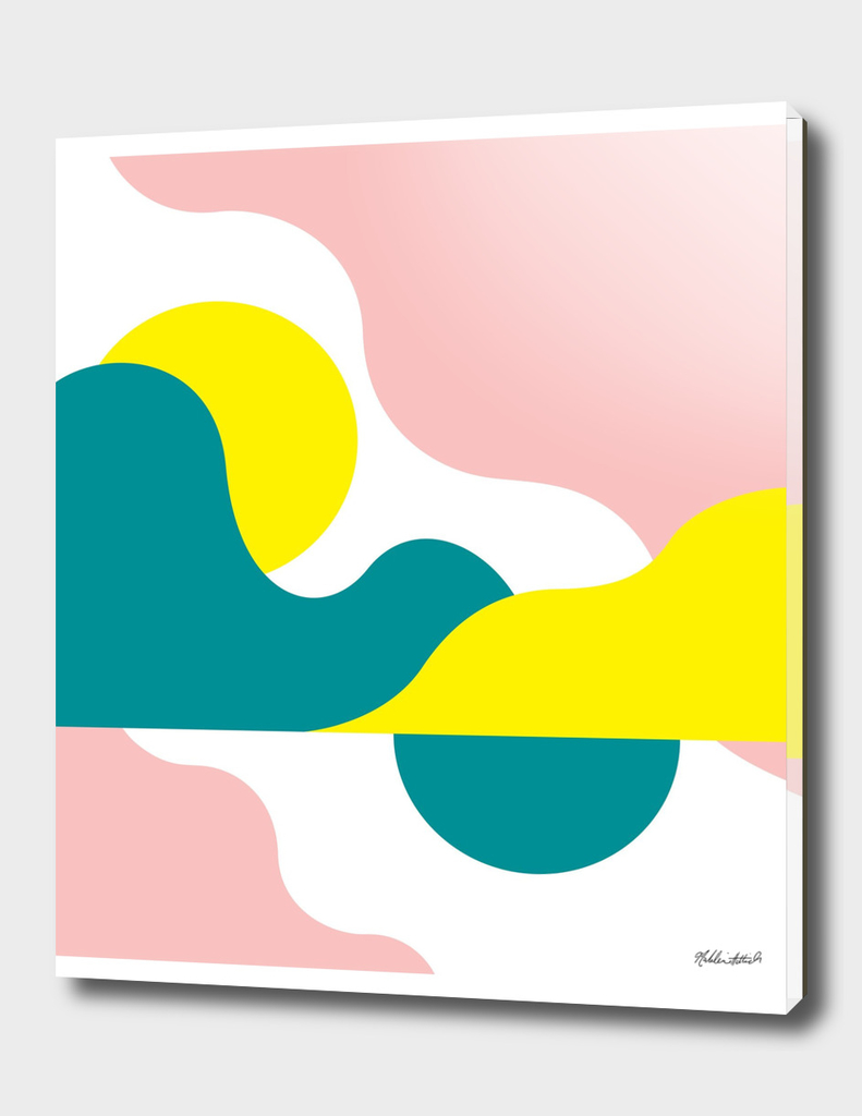 Graphic Sunset Poster 12