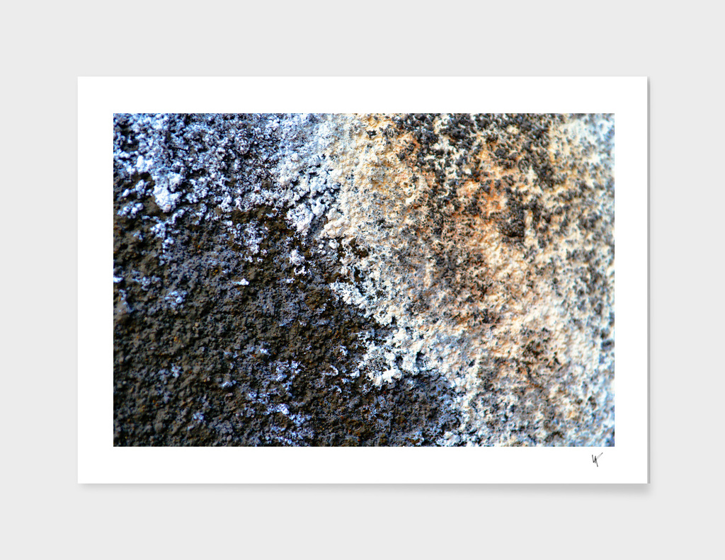 Volcanic Rock Textured Abstract