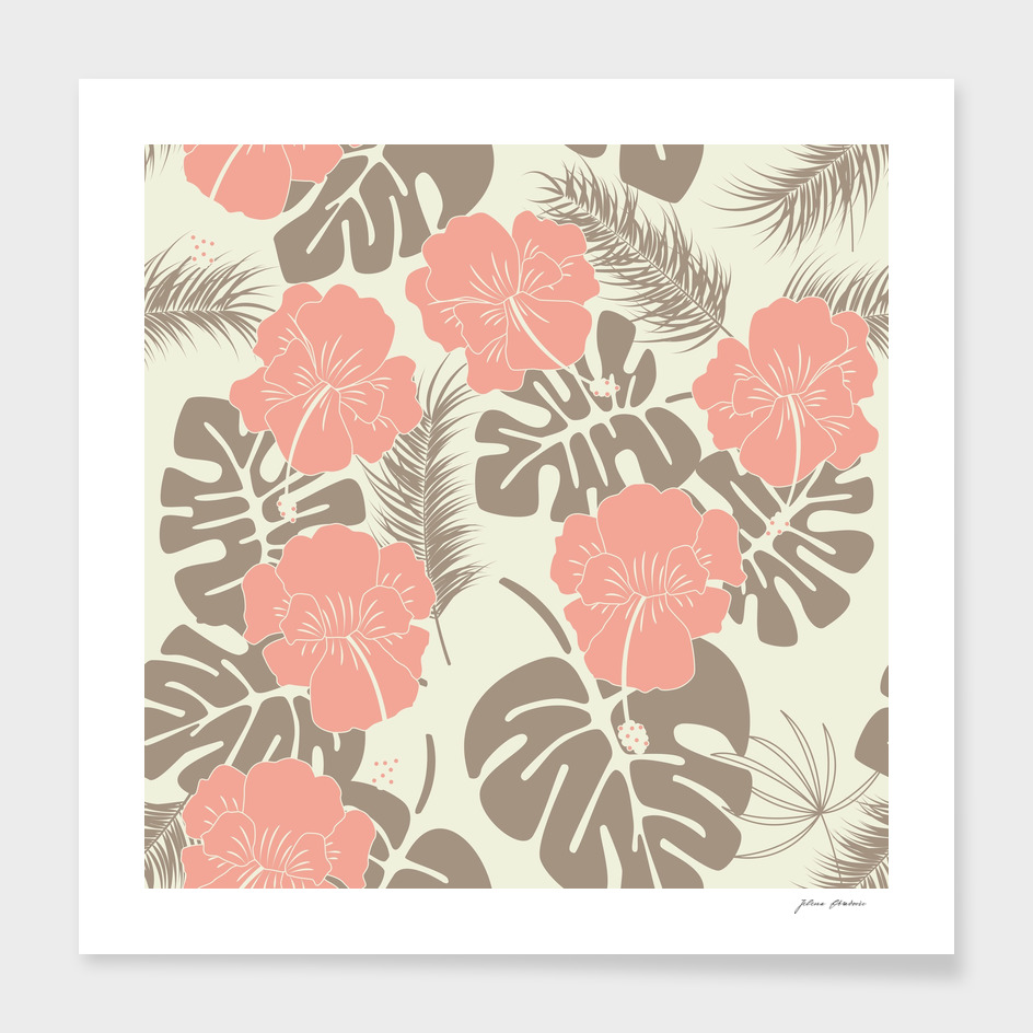 Tropical pattern 022