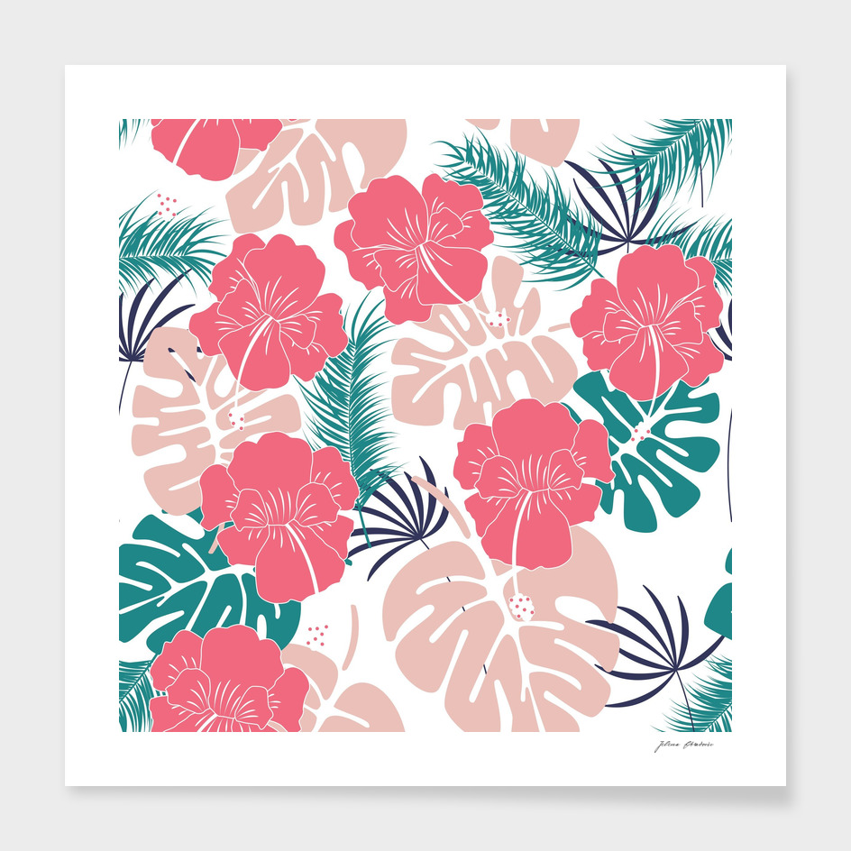 Tropical pattern 023