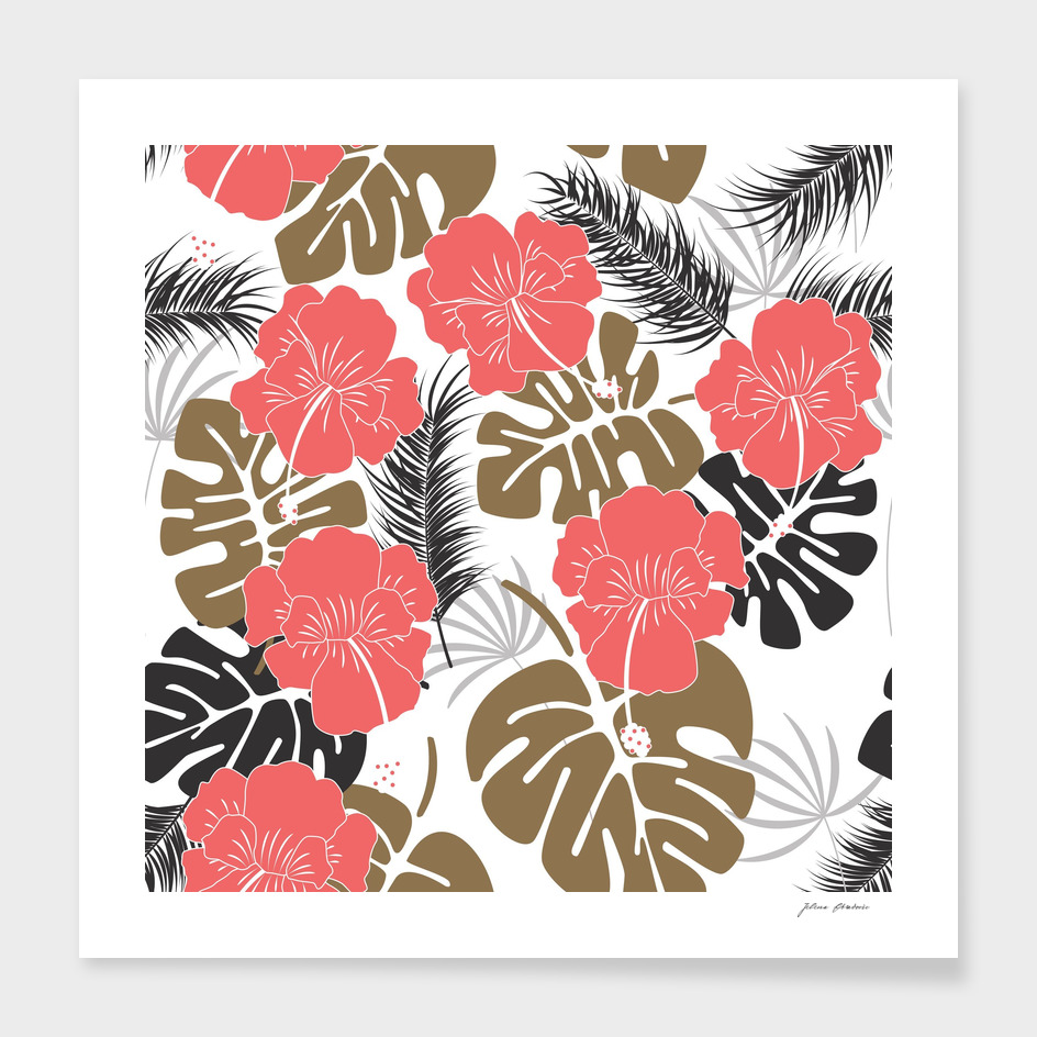 Tropical pattern 024
