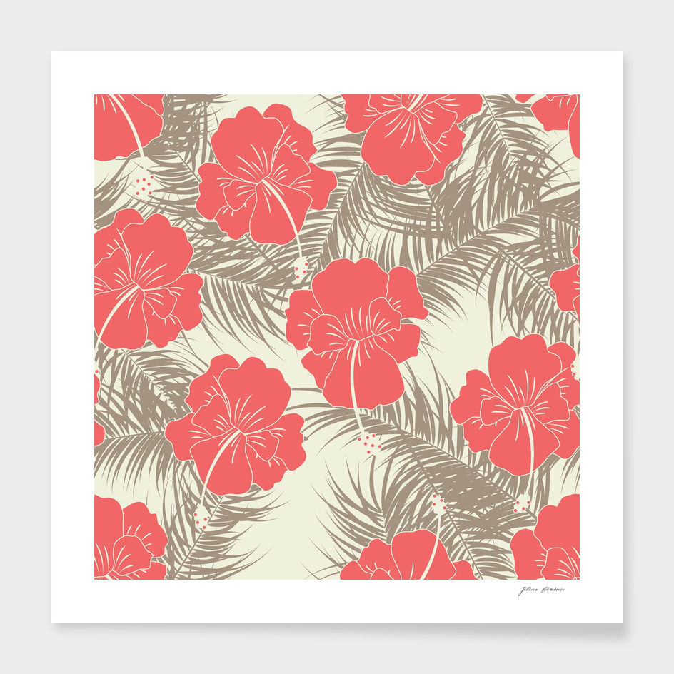 Tropical pattern 026