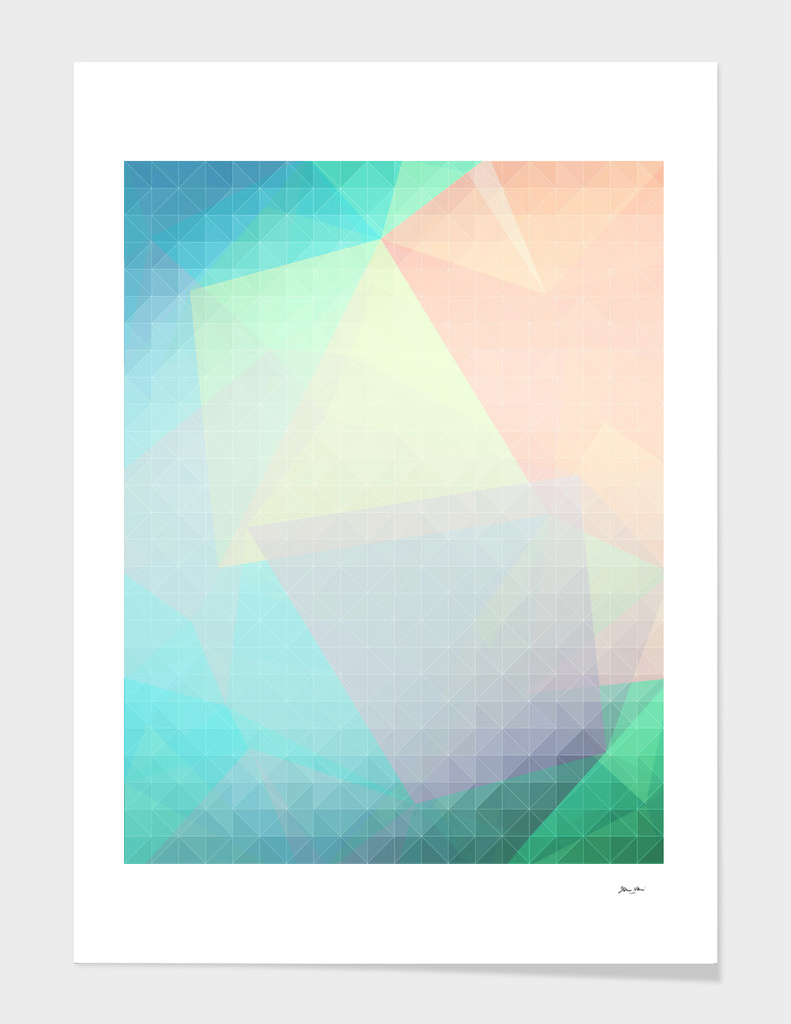 Pastel Candy Geometry
