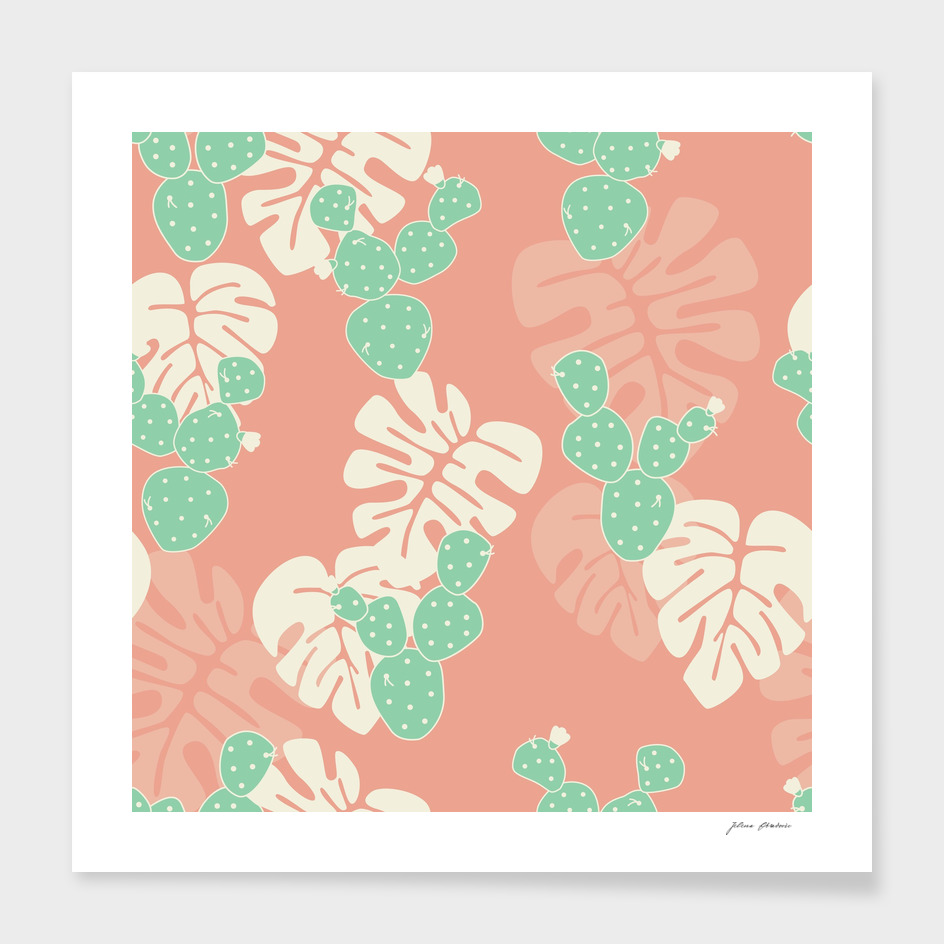 Tropical pattern 058