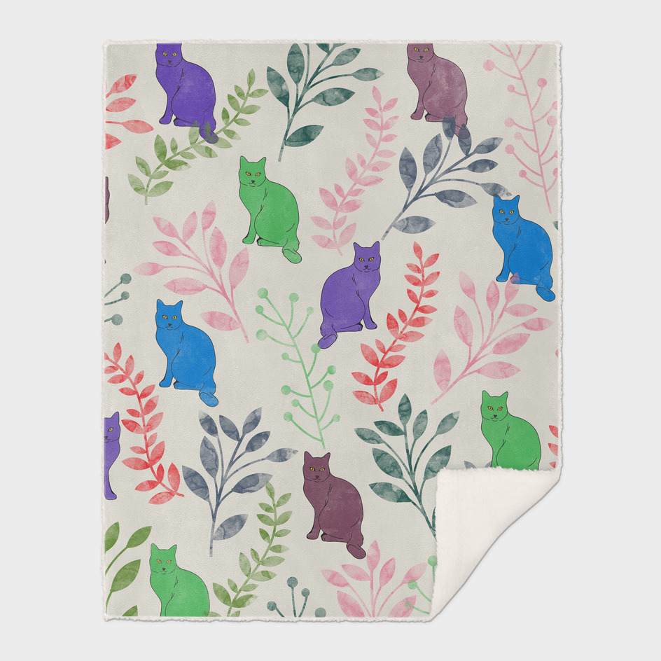 Floral and Cats