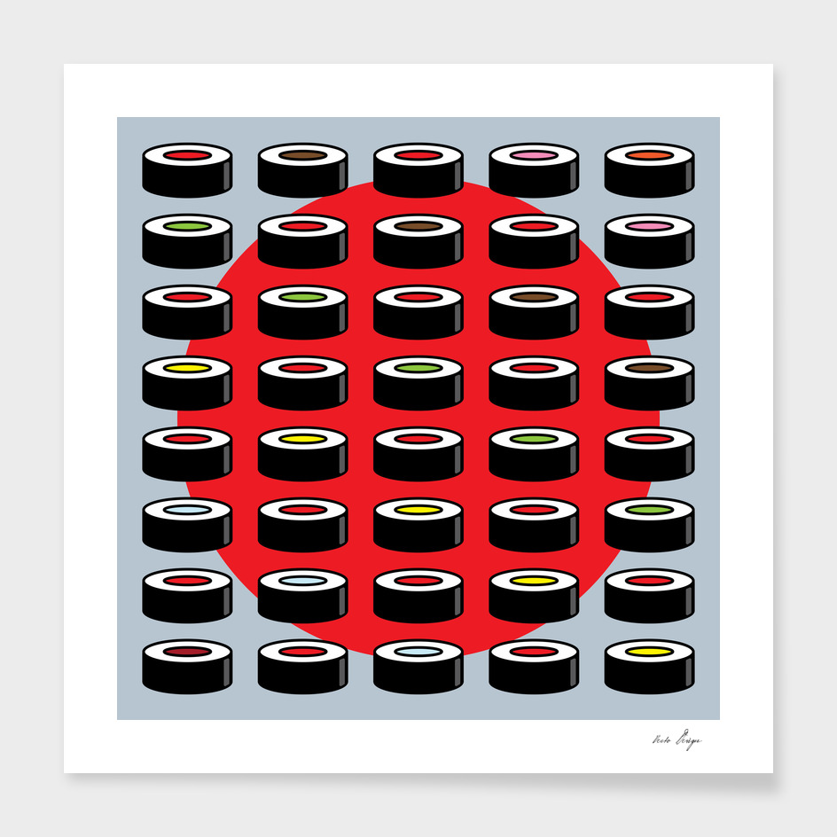 Abstract Sushi Combo