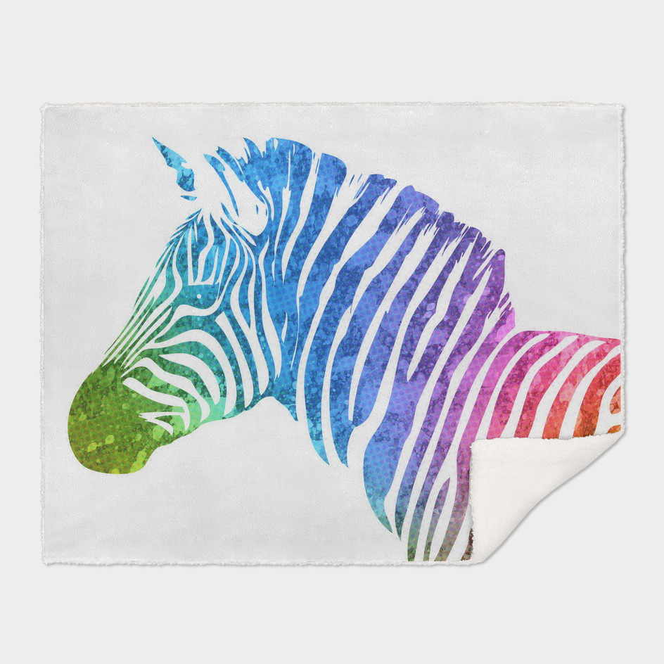 Zebra | Rainbow Series | Pop Art