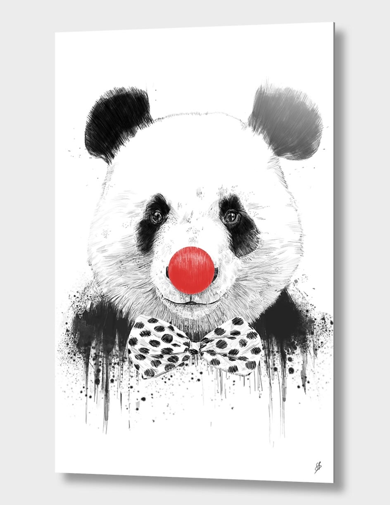 Clown panda