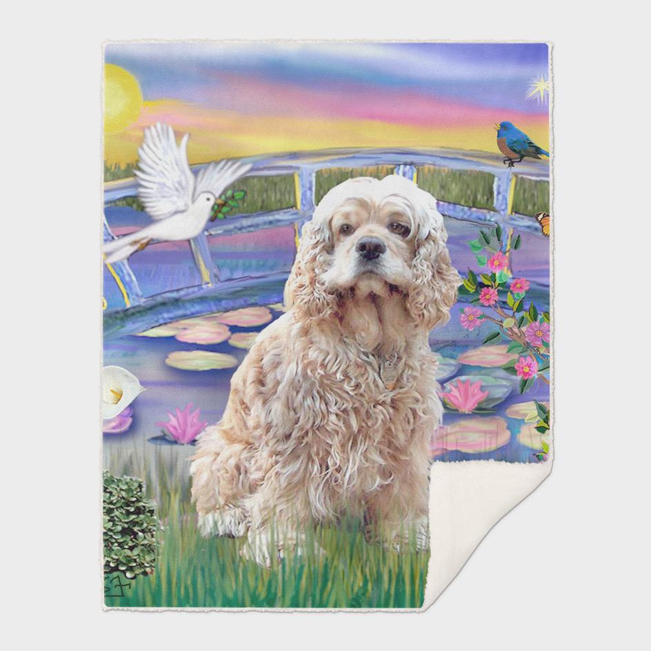 Cocker Spaniel / Lily Pond