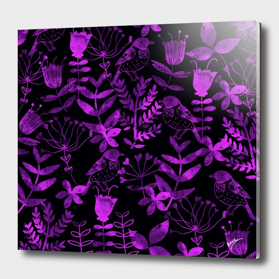 Abstract Botanical Garden IV