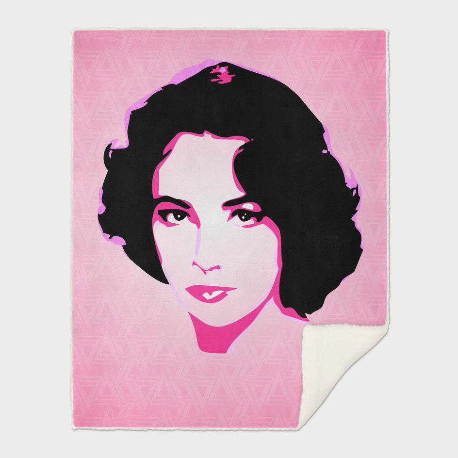 Saint Elizabeth Taylor | Pop Art