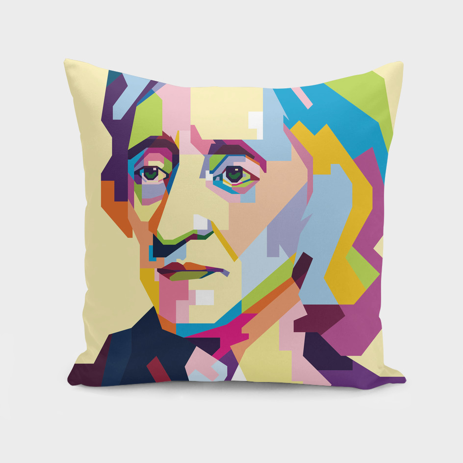 John Locke in Pop Art Portrait