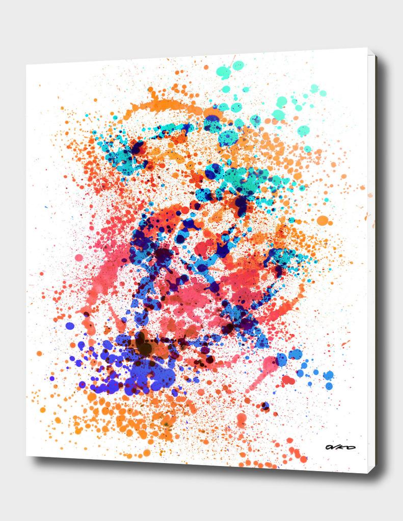 Wild Style - Abstract Splatter Art