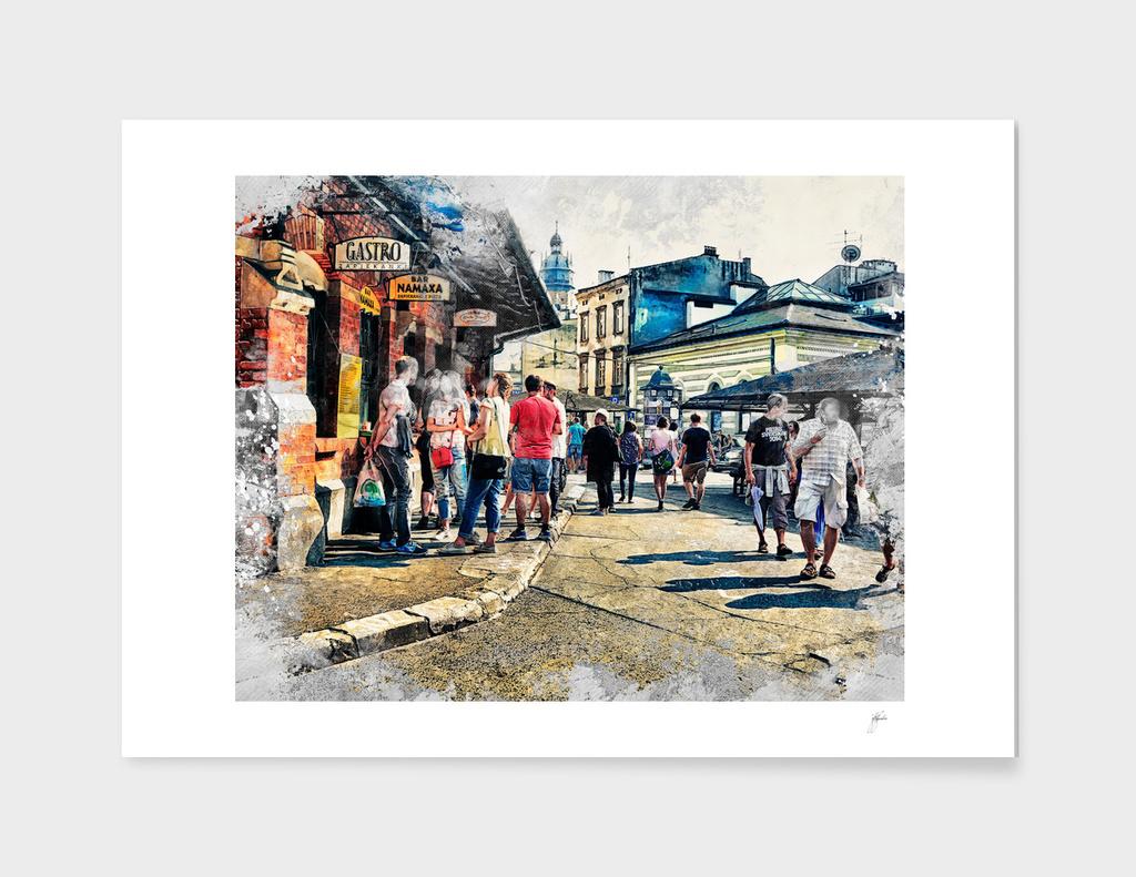 Cracow art 6 Kazimierz