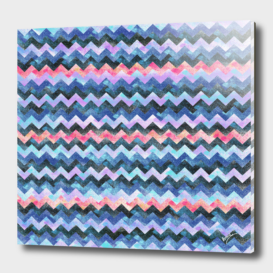 Colorful Chevron #6