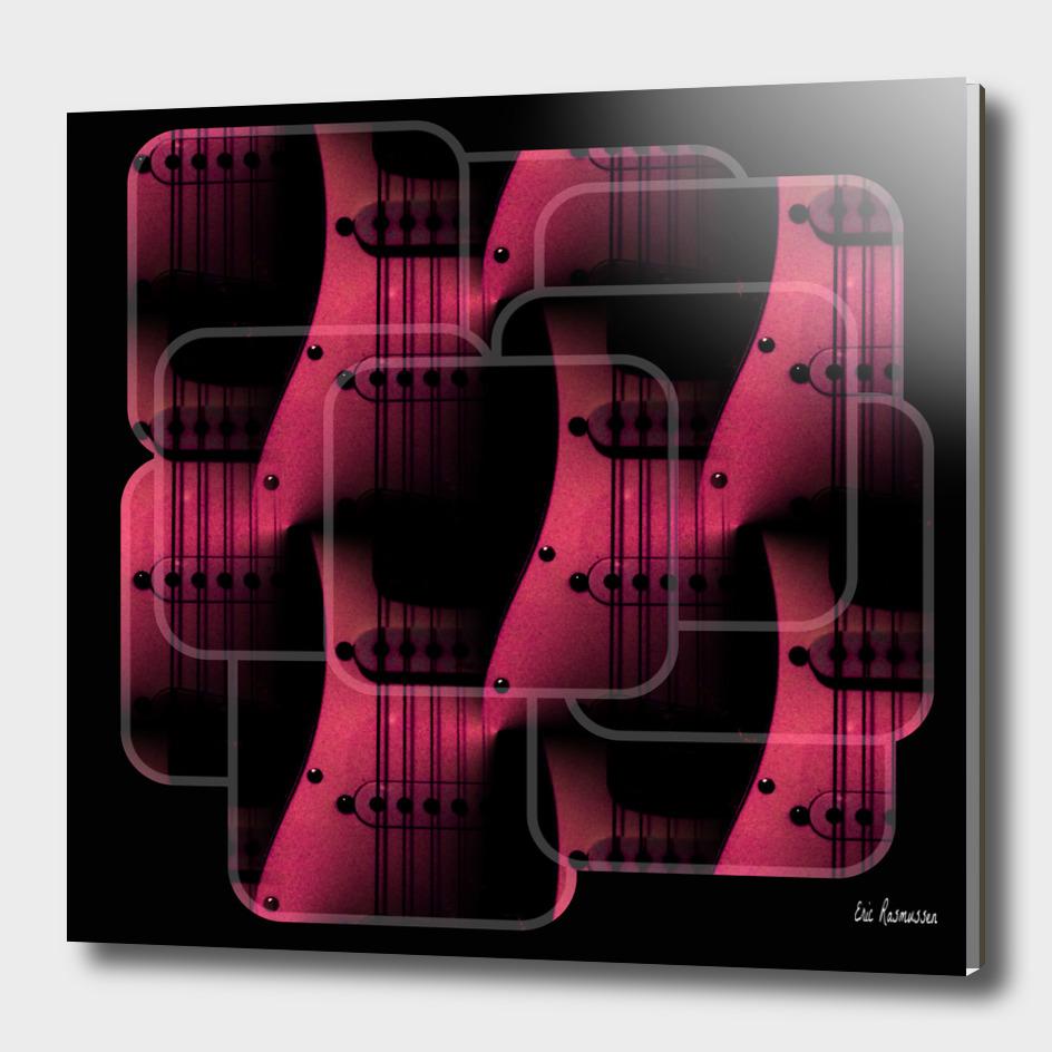Pink Guitar Jumble