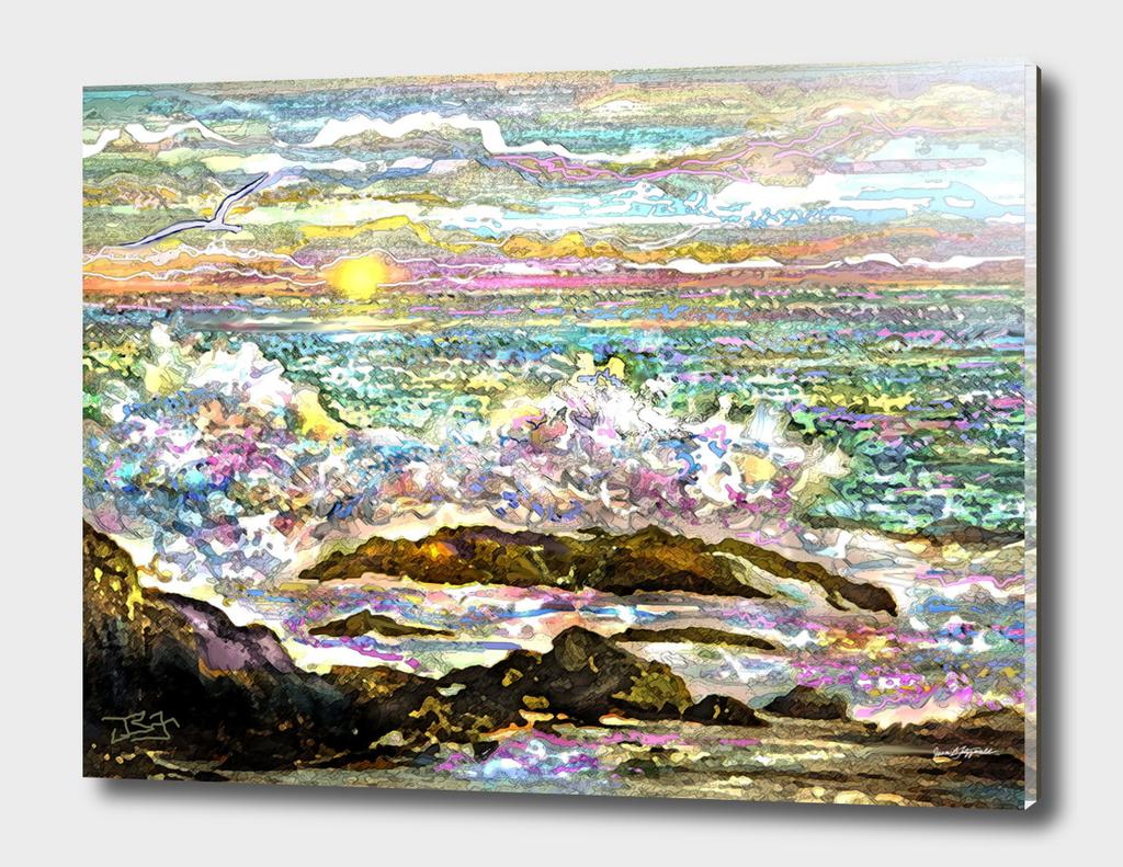 Ocean Wave 1D