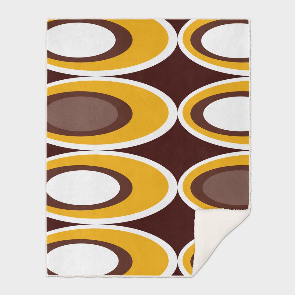 Retro Ovals - Chocolate Toffee