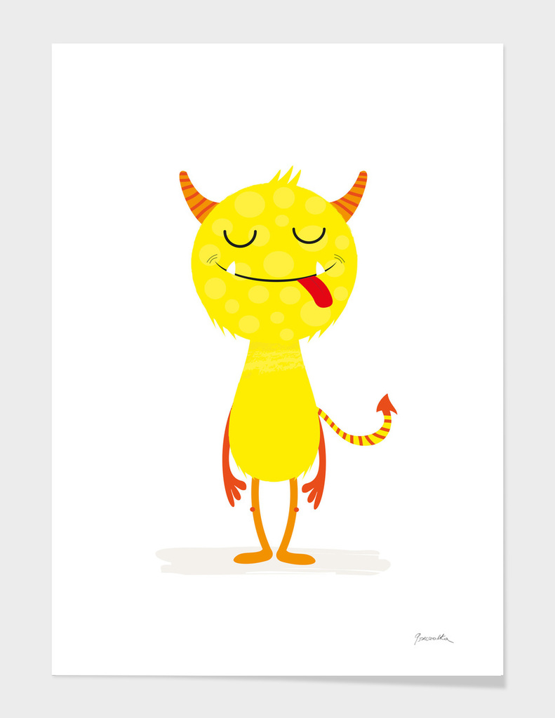 Little yellow monster