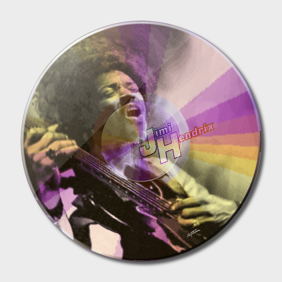 LP series 'Jimi Hendrix'