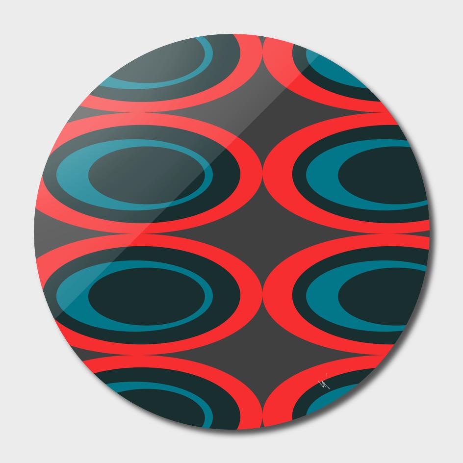 Retro Ovals - Intensify