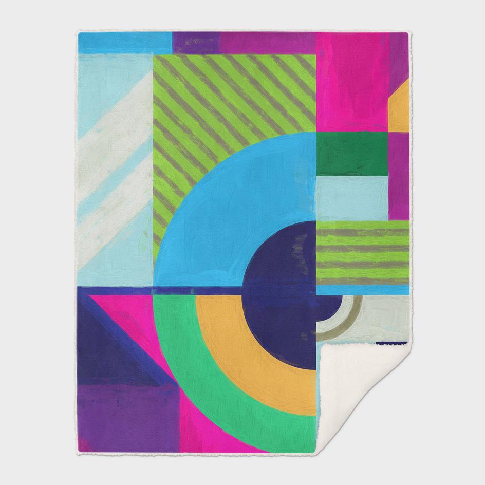 Geometric Pattern 3 Impasto Revised