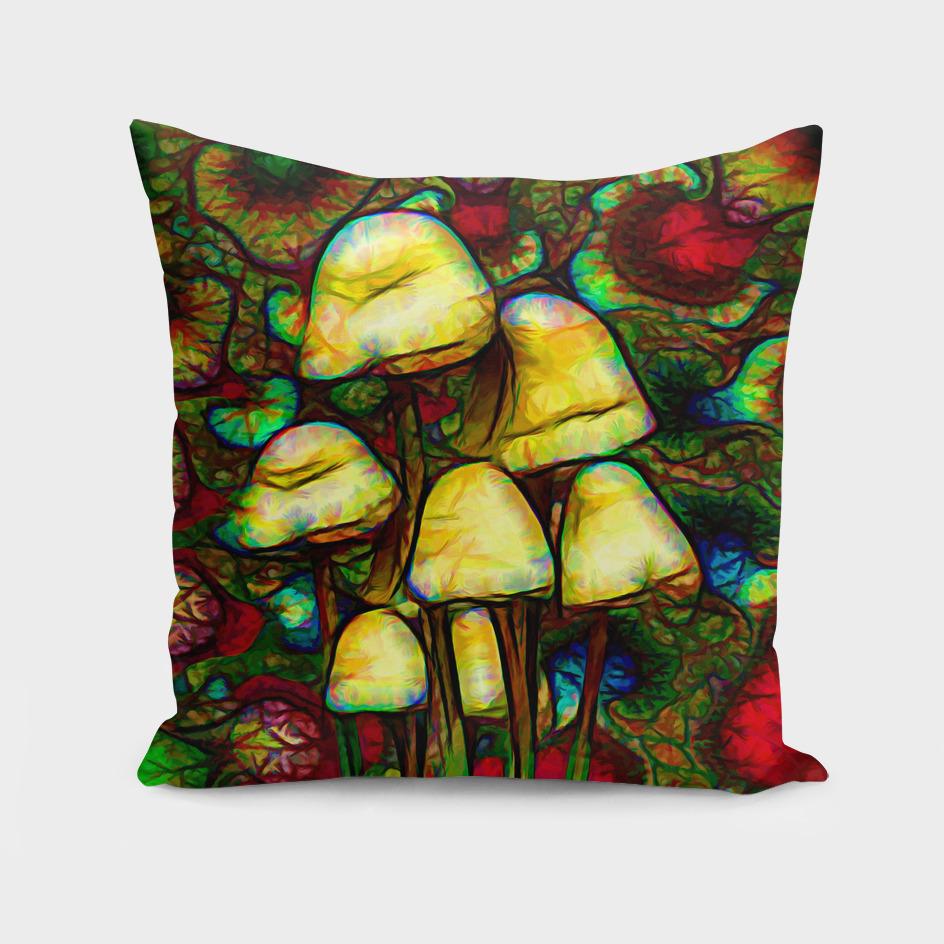 Magic psychedelic mushrooms