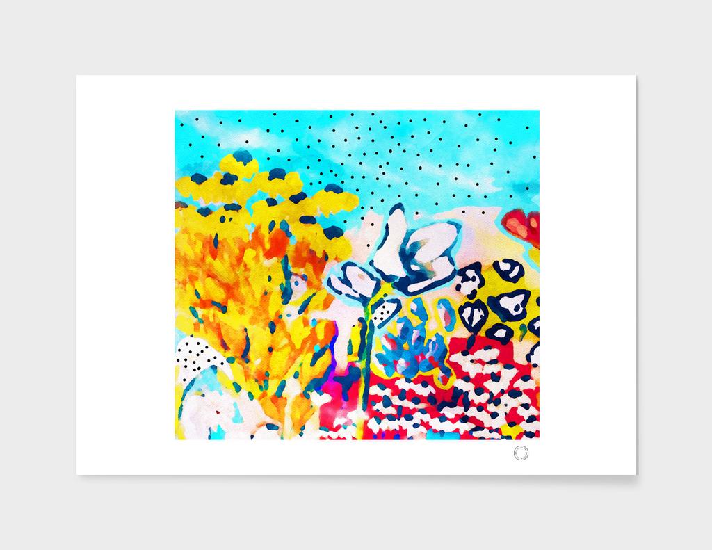 Floral Graffiti