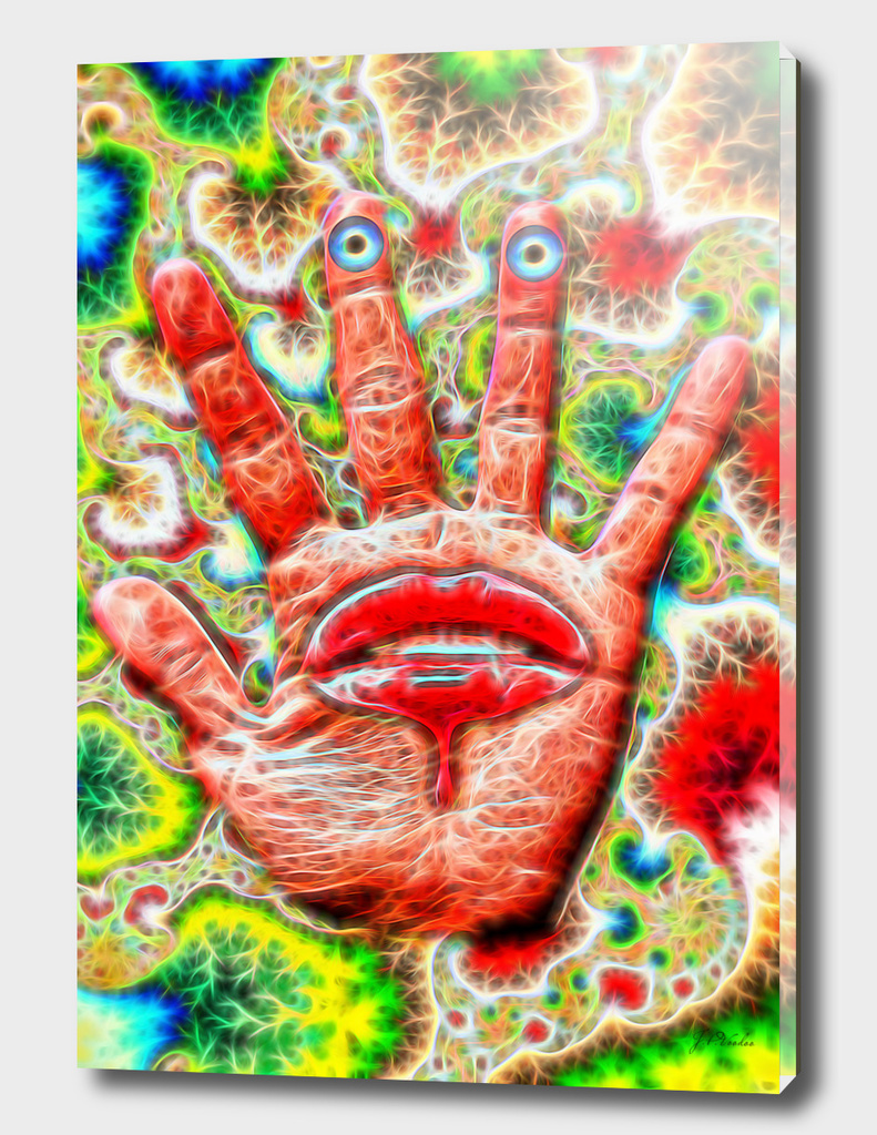Psychedelic-Hand