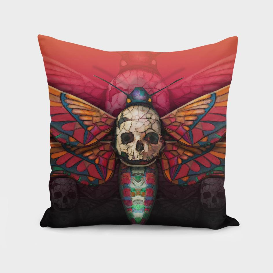 """Death colored moth"""