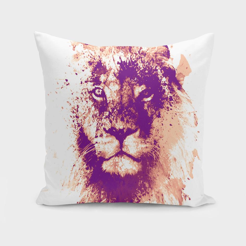 Lion watercolor