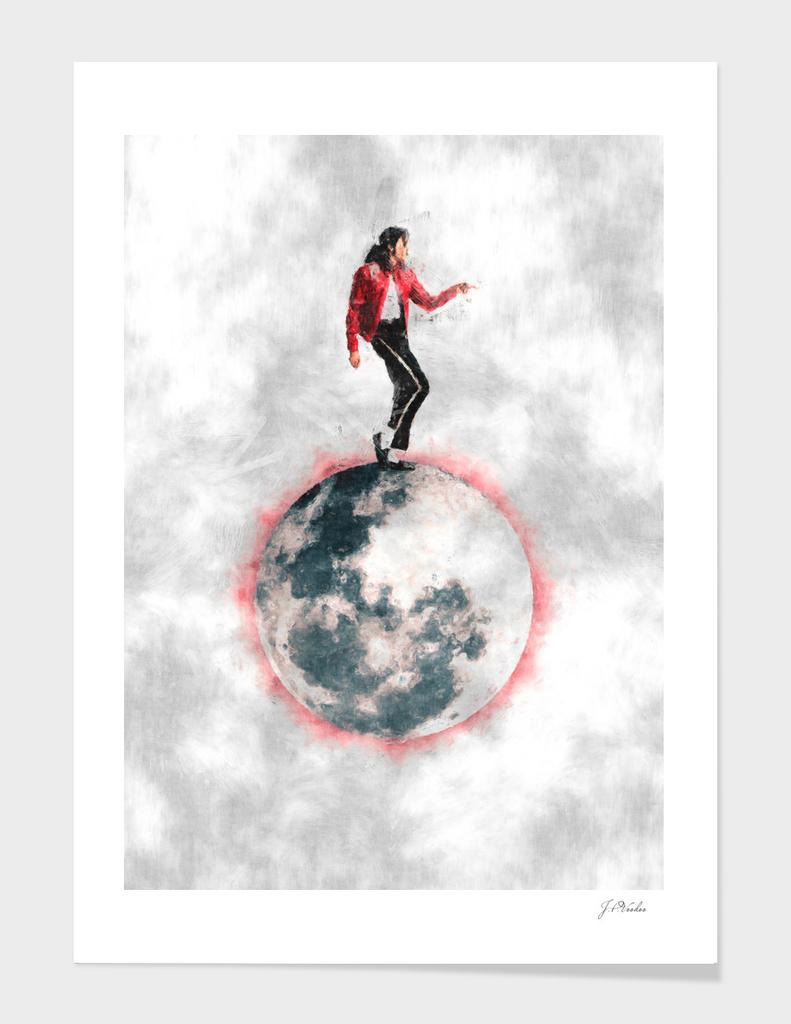 Michael Jackson Moonwalk sketch