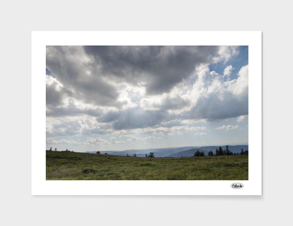 Cloud horizon