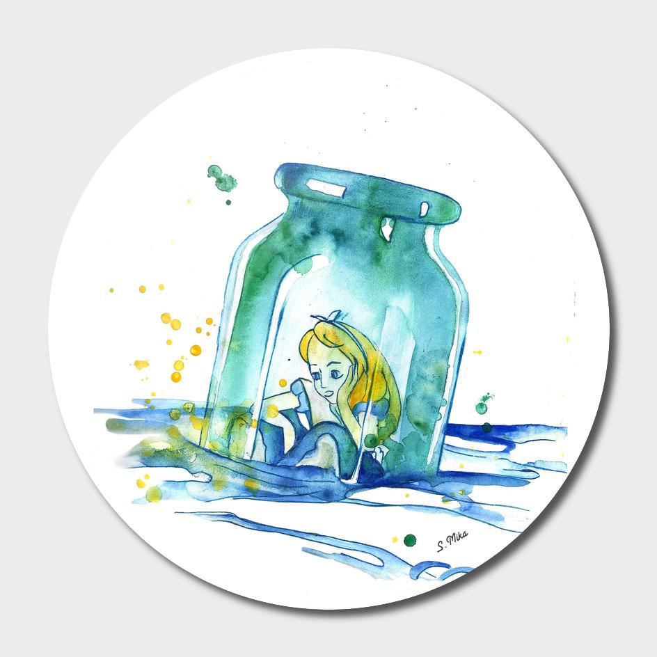 Alice In The Bottle