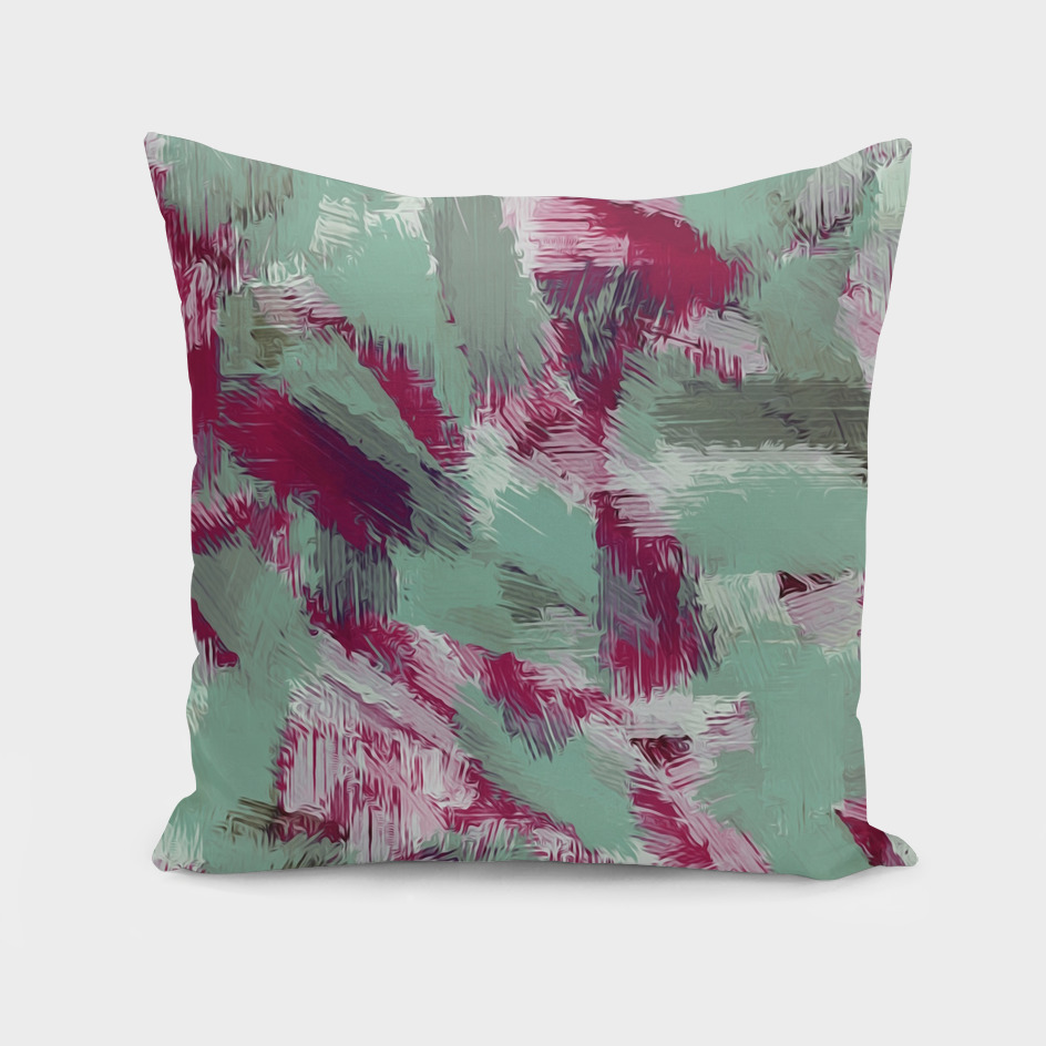 pink and green painting texture abstract background