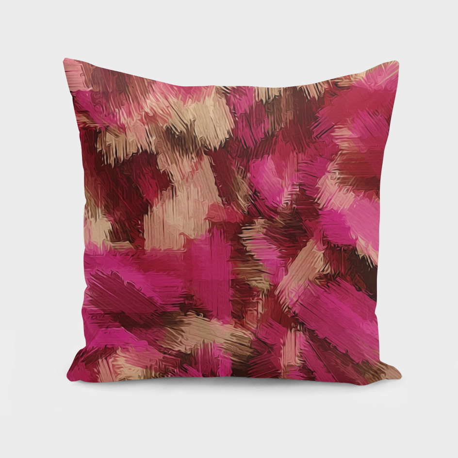 pink red and brown painting texture abstract background