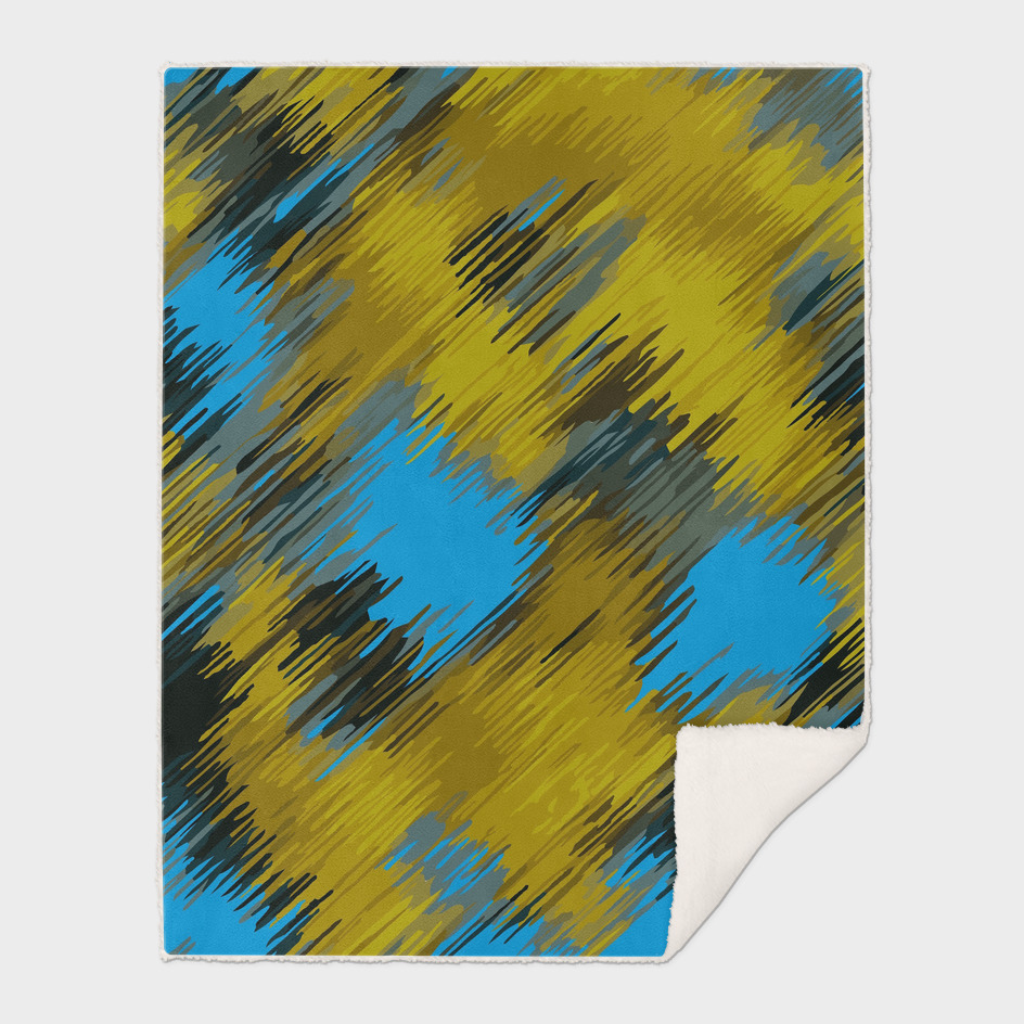 blue and yellow abstract painting background