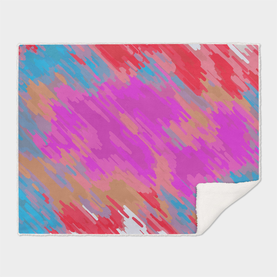 pink blue red painting abstract background