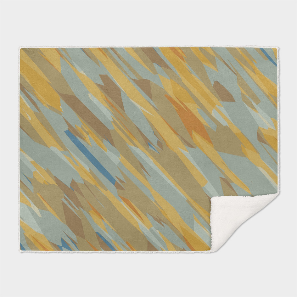 yellow and blue psychedelic geometric abstract background
