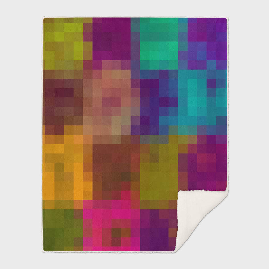 brown purple pink blue green pixel abstract background