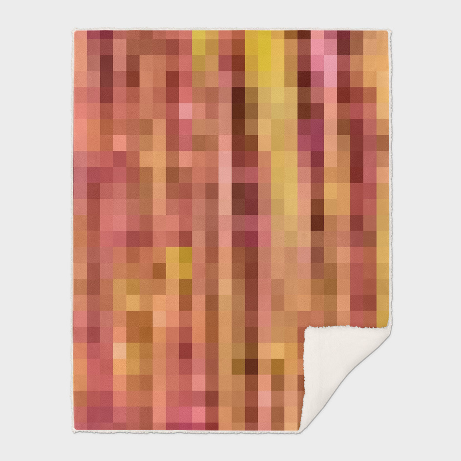 pink and yellow pixel abstract background