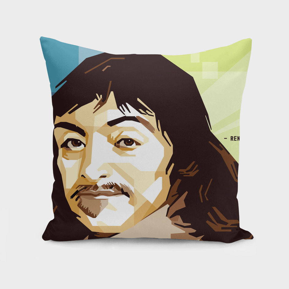 Rene Descartes in WPAP SKINTONE