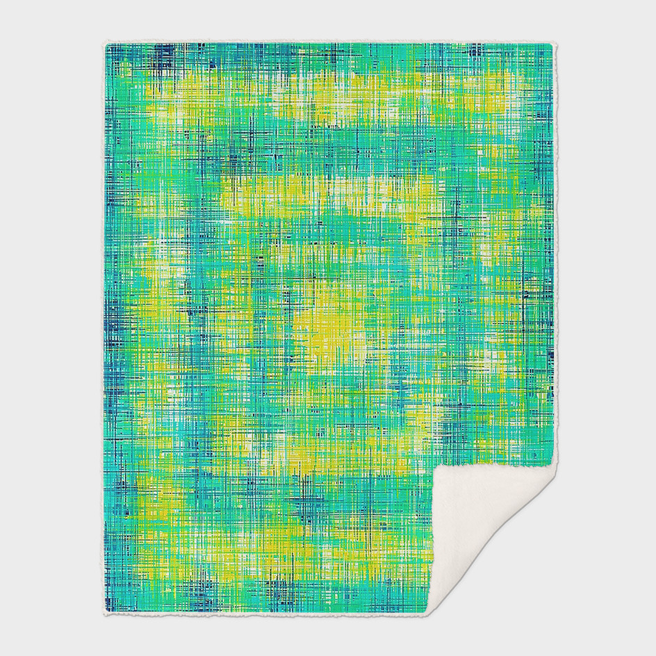 green yellow and blue painting texture abstract background