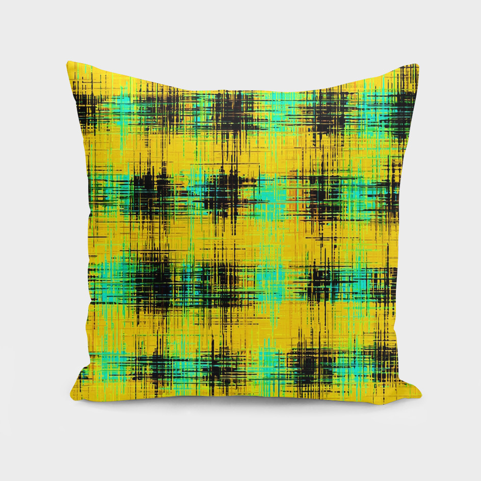 yellow green and black painting texture background